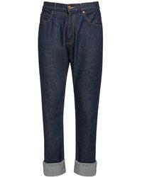 Versace Regular Fit ジーンズ - ブルー