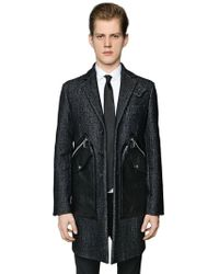 DSquared² - Cappotto In Lana - Lyst