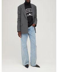 MSGM New College スウェットシャツ - ブラック