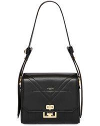 Givenchy Medium Eden Leather Bag - Schwarz