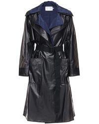 PROENZA SCHOULER WHITE LABEL Пальто-дождевик С Поясом - Серый