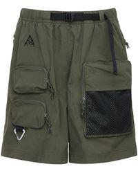 """Nike Shorts Cargo """"Nrg Acg"""" - Verde"""