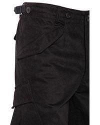 Maharishi Ma65 Cotton Cargo Shorts - Black