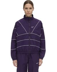 Nike Nrg Track Jacket - Purple