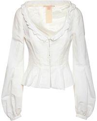 Brock Collection - Jacke Aus Baumwollmischung - Lyst