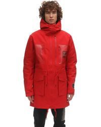 Nike 3l Undercover Nrg Fish Tail Parka - Red