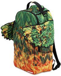 """Sprayground Zaino """"leaf Wing"""" - Verde"""