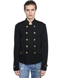Dolce & Gabbana - Military Style Wool Jacket - Lyst