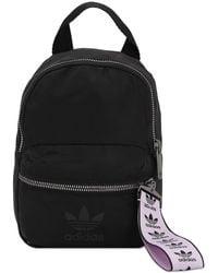 adidas Originals Mini Rucksack Aus Nylon - Schwarz