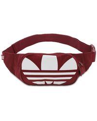 adidas Originals Adicolor Belt Bag - Red