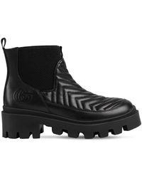 Gucci Кожаные Ботинки Челси 25mm - Черный