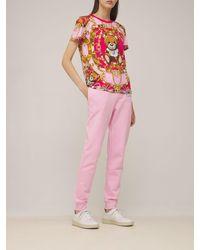 Moschino Teddy コットンジャージーtシャツ - マルチカラー