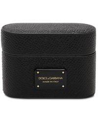 Dolce & Gabbana Чехол Для Airpod Pro С Логотипом - Черный