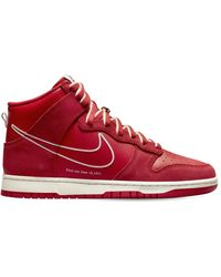 "Nike Sneakers ""dunk Hi Se"" - Rot"