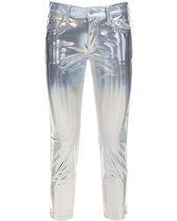 Junya Watanabe Metallic Coated Trousers