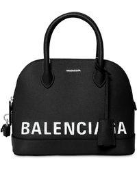 Balenciaga - Medium Ville Textured Leather Bag - Lyst