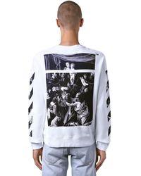 Off-White c/o Virgil Abloh - Caravaggio ジャージースウェットシャツ - Lyst