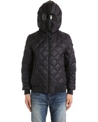 Ai Riders On The Storm | Quilted Micro Ripstop Down Bomber Jacket | Lyst
