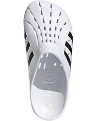 adidas Originals Adilette Clog Sandals - White