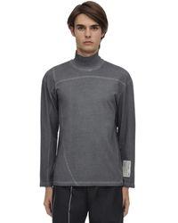 A_COLD_WALL* L/s コットンジャージーロングtシャツ - グレー