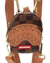 Sprayground - Henny Checkered Tiny Backpack - Lyst