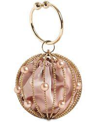 Rosantica Sasha Crystal Sphere Top Handle Bag - Multicolor