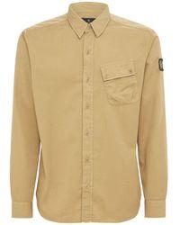 Belstaff コットンtシャツ - ナチュラル