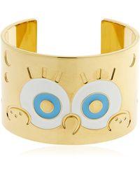 Maria Francesca Pepe Spongebob Cuff Bracelet - Multicolour