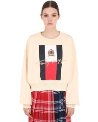 Tommy Hilfiger 刺繍 コットンスウェットシャツ - マルチカラー