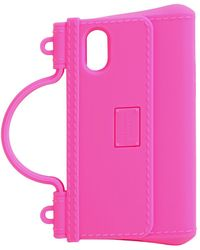Dolce & Gabbana Резиновый Чехол Для Iphone X/xs - Розовый