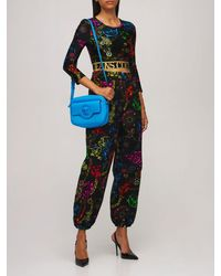 Versace Jeans Couture コットンジャージースウェットパンツ - ブラック