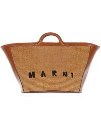 """Marni - Bolso De Mano Grande """"tropicalia Summer"""" - Lyst"""