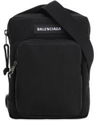 "Balenciaga Rucksack Aus Nylon ""explorer"" - Schwarz"