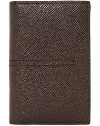 Tod's - Grained Leather Vertical Card Holder - Lyst