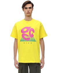 Nike Acg コットンジャージーtシャツ - イエロー