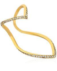 SeeMe - Herzring Mit Diamanten - Lyst