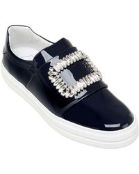 Roger Vivier - Sneaky Viv Patent Leather Trainers - Lyst