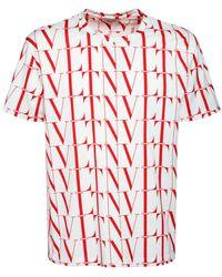 Valentino - Vltn Times コットンtシャツ - Lyst