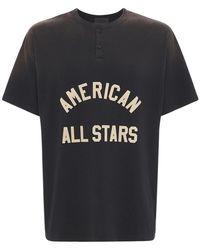 Fear Of God All Star Henley コットンtシャツ - ブラック
