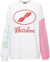 we11done コットンtシャツ - マルチカラー