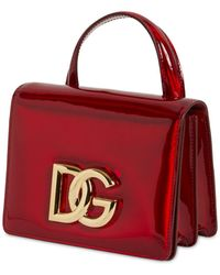Dolce & Gabbana Dg 3.5 レザートップハンドルバッグ - レッド