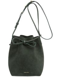 Mansur Gavriel - Mini Suede Bucket Bag - Lyst