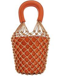 STAUD Moreau Leather Bucket Bag - Mehrfarbig