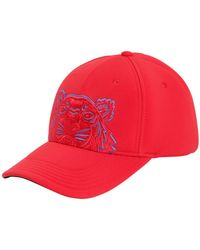 KENZO - Embroidered Canvas Baseball Hat - Lyst