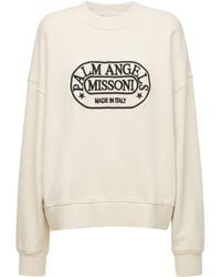 Palm Angels Capsule Missoni Heritage スウェットシャツ - ホワイト