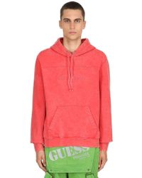 Guess - Sean Wotherspo Cotton Sweatshirt Hoodie - Lyst
