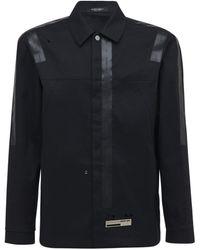 A_COLD_WALL* Mackintosh オーバーサイズコットンシャツジャケット - ブラック