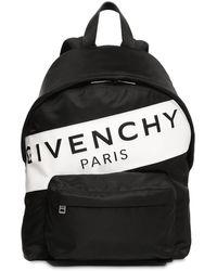"Givenchy Rucksack Aus Leder "" Paris"" - Schwarz"