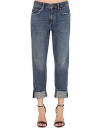 "Current/Elliott Boyfriend-jeans Aus Denim ""the Fling Jean"" - Blau"