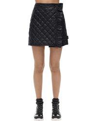 Moncler ナイロンミニスカート - ブラック